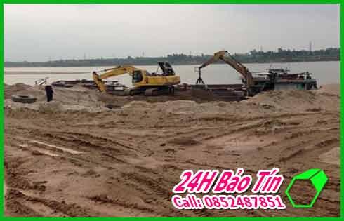 Công Ty Bảo Tín Chuyên San Lấp Mặt Bằng Bơm Cát Ở Huyện Hóc Môn.