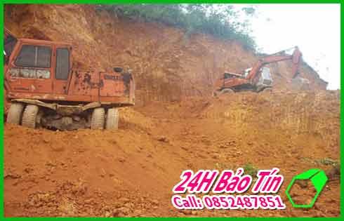 Nhận San Lấp Đất Đỏ Đất Đen Số Lượng Lớn Ở Huyện Hóc Môn Bảo Tín.