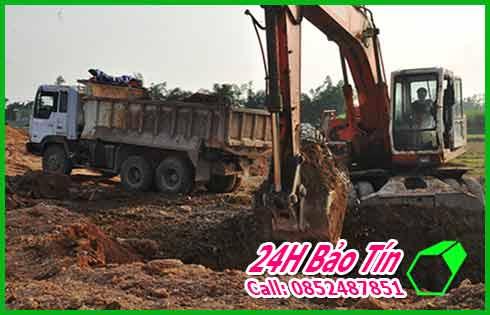 Nhận San Lấp Đất Đỏ Đất Đen Số Lượng Lớn Ở Quận 12 Bảo Tín.