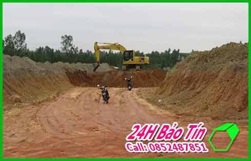 Nhận San Lấp Đất Đỏ Đất Đen Số Lượng Lớn Ở Quận 9 Bảo Tín.