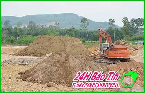 Nhận San Lấp Đất Đỏ Đất Đen Số Lượng Lớn Ở Quận Thủ đức Bảo Tín.